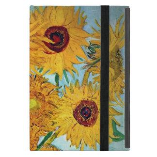 Capa iPad Mini Vincent van Gogh - vaso com 12 girassóis