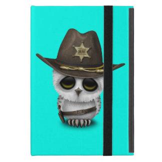 Capa iPad Mini Xerife bonito da coruja do bebê