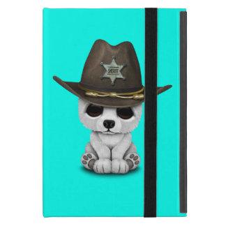Capa iPad Mini Xerife bonito de Cub de urso polar do bebê