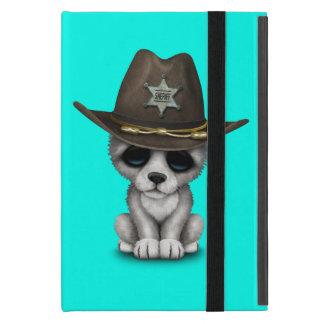 Capa iPad Mini Xerife bonito do lobo do bebê