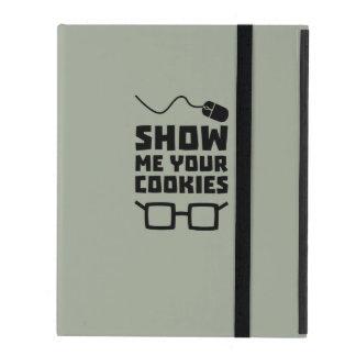 Capa iPad Mostre-me seu geek Zb975 dos biscoitos