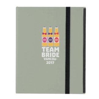 Capa iPad Noiva Vancôver da equipe 2017 Z13n1