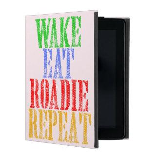 Capa iPad O acordar come a repetição de ROADIE