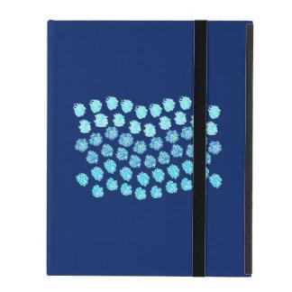 Capa iPad O azul acena o caso do iPad 2/3/4 sem Kickstand