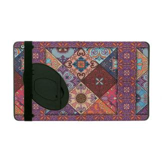 Capa iPad Ornamento de talavera do mosaico do vintage