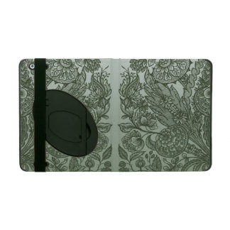 Capa iPad ornaments o verde de musgo