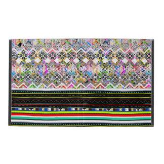 Capa iPad Padrões tribais astecas coloridos bonitos