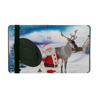 Capa iPad Papai Noel engraçado