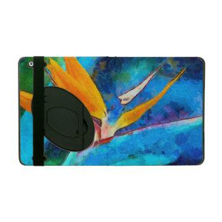 Capa iPad pássaro da flor de paraíso