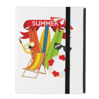 Capa iPad Praia Watersports do verão