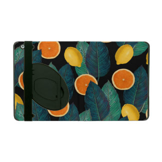 Capa iPad preto dos limões e das laranjas