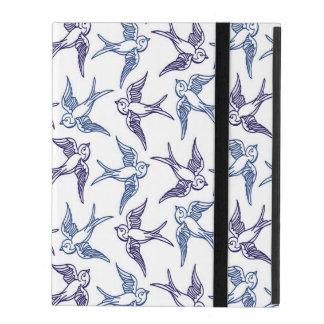 Capa iPad Rebanho de pássaros esboçados
