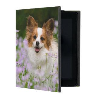 Capa iPad Retrato romântico Hardcase protetor do cão de