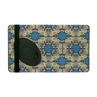 Capa iPad Teste padrão floral étnico abstrato colorido de da