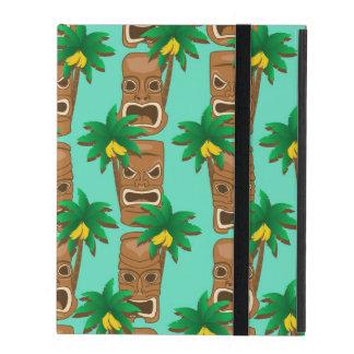 Capa iPad Teste padrão havaiano da repetição de Tiki