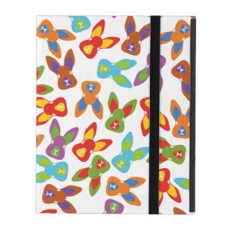 Capa iPad Teste padrão psicótico da páscoa colorido