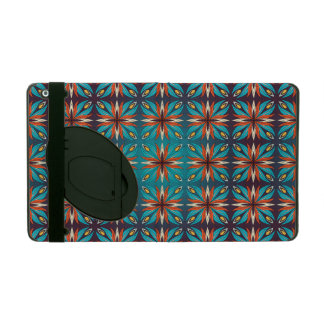 Capa iPad Teste padrão sem emenda retro geométrico abstrato