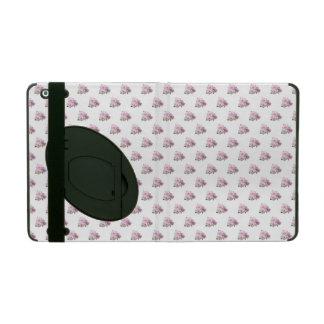 Capa iPad Três rosas cor-de-rosa. Teste padrão floral