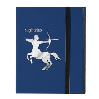 Capa iPad Zodíaco do Sagitário dos azuis marinhos