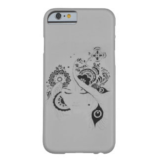Capa iPhone 6 doodle floral