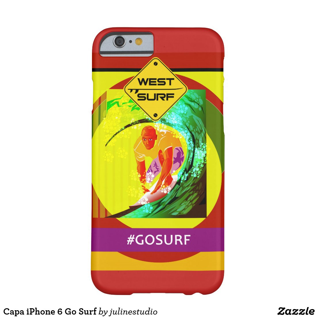 Capa iPhone 6 Go Surf