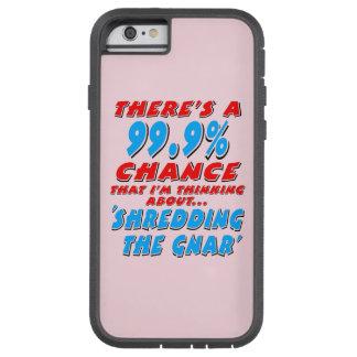 Capa iPhone 6 Tough Xtreme 99,9% SHREDDING O GNAR (preto)