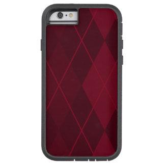 Capa iPhone 6 Tough Xtreme Argyle vermelho