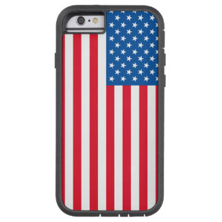 Capa iPhone 6 Tough Xtreme Bandeira dos Estados Unidos da bandeira dos EUA