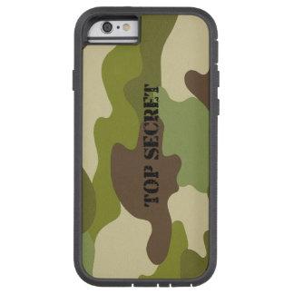 Capa iPhone 6 Tough Xtreme Camuflagem extremamente secreto do caso resistente