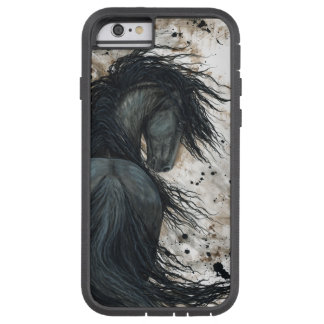 Capa iPhone 6 Tough Xtreme Cavalo do frisão pelo caso do iPhone 6 de Bihrle