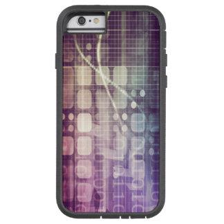 Capa iPhone 6 Tough Xtreme Conceito abstrato futurista na tecnologia