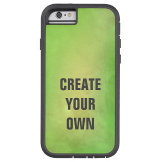 Capa iPhone 6 Tough Xtreme Criar sua própria pintura verde moderna da