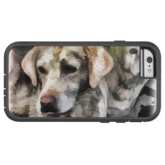 Capa iPhone 6 Tough Xtreme divertimento dos labradors na lama