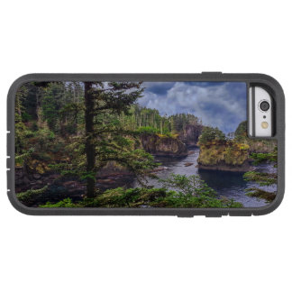 Capa iPhone 6 Tough Xtreme elogio olímpico do cabo da península do nascer do