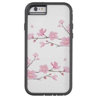 Capa iPhone 6 Tough Xtreme Flor de cerejeira - fundo transparente