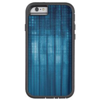 Capa iPhone 6 Tough Xtreme Fundo do mosaico da tecnologia como uma arte do