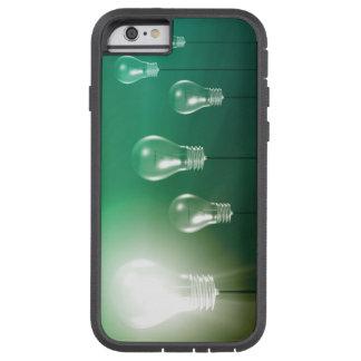 Capa iPhone 6 Tough Xtreme Inovação criativa e conceito de incandescência