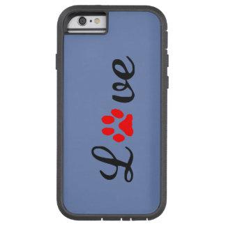 Capa iPhone 6 Tough Xtreme iPhone 6/6s, animais de estimação resistentes do