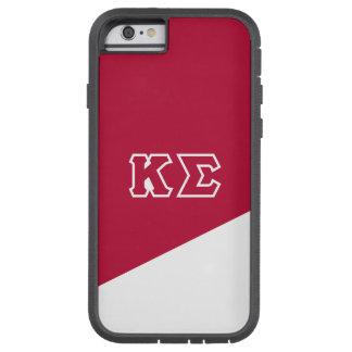 Capa iPhone 6 Tough Xtreme Letras do grego do Sigma | do Kappa