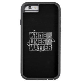 Capa iPhone 6 Tough Xtreme linhas brancas matéria
