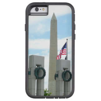 Capa iPhone 6 Tough Xtreme Monumento de Washington e memorial de WWII na C.C.