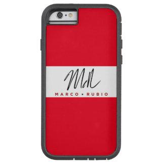 Capa iPhone 6 Tough Xtreme Na moda, exemplo impermeável de Marco Rubio Iphone
