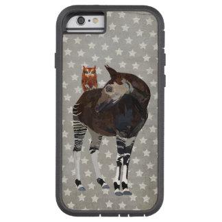 CAPA iPhone 6 TOUGH XTREME OKAPI & CORUJA AMBARINA