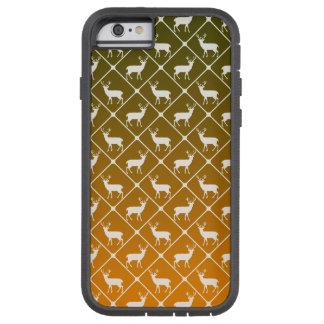 Capa iPhone 6 Tough Xtreme Os cervos modelam no fundo do inclinação