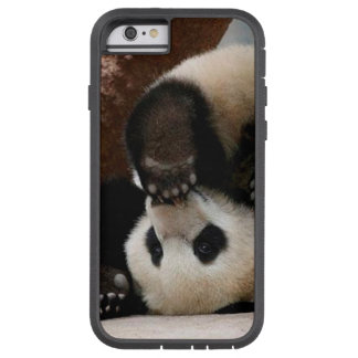 Capa iPhone 6 Tough Xtreme Pandas do bebê que jogam - panda bonito da panda