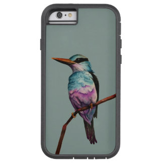 Capa iPhone 6 Tough Xtreme Pintura do pássaro da cor do algodão doce