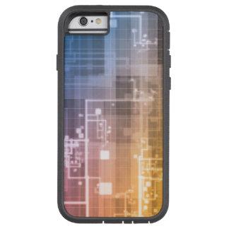 Capa iPhone 6 Tough Xtreme Tecnologia futurista como uma arte da próxima