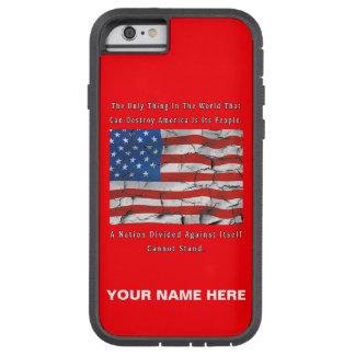 Capa iPhone 6 Tough Xtreme Uma nação dividida