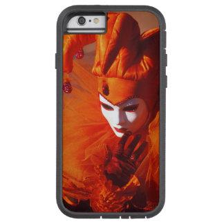 Capa iPhone 6 Tough Xtreme Veneza, Italia (IT) - traje alaranjado do carnaval