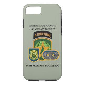 Capa iPhone 8/ 7 118TH EXEMPLO da EMPRESA da POLÍCIA MILITAR